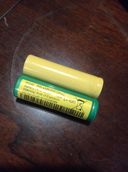 ソニッケアの内蔵電池と比較