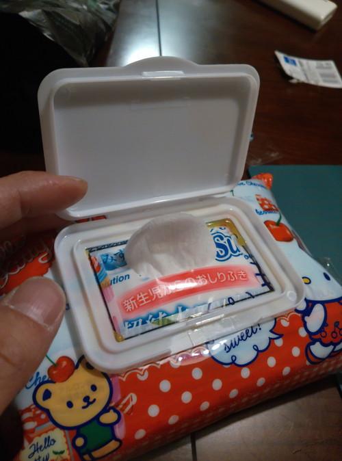 手作りおしりふきケース。よくないですか?